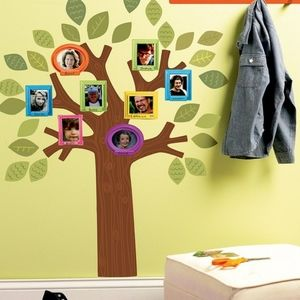 Whimsical Family Tree Wall Decal Set